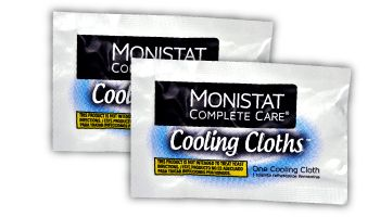 Monistat Care 3 In 1 Cooling Cloths Cools Soothes Soothes With