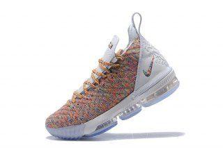 Ventilation Nike LeBron 16 Cereal White