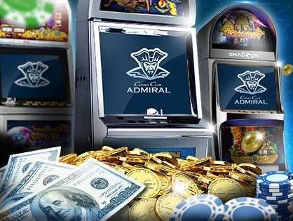 Адмирал казино деньги играть в игровые автоматы в книги