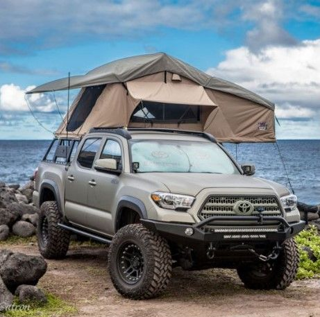 Tuff Stuff Overland Rooftop Tent Annex Room 3 Person Ranger Overland Sand Ts Rtt Anx Ran Doors 1 Weight 116 Lb In 2020 Tacoma Truck Truck Canopy Camping Toyota Tacoma