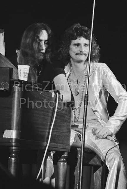 Ken Hensley And David Byron Uriah Heep Heep Uriah Byron