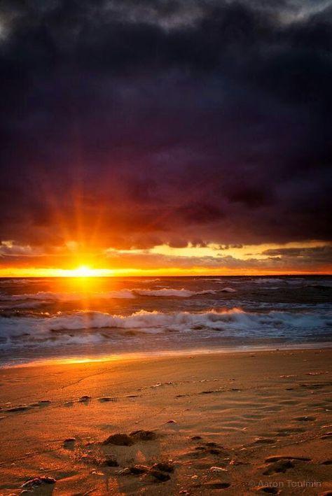 Levi Beach Sunset Australia