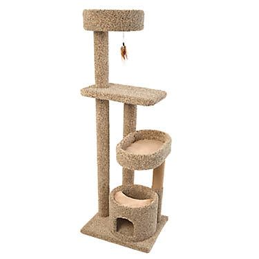 Whisker City Kitty Climber Cat Tower Color Varies Cat City Cat Tower Pet Spray