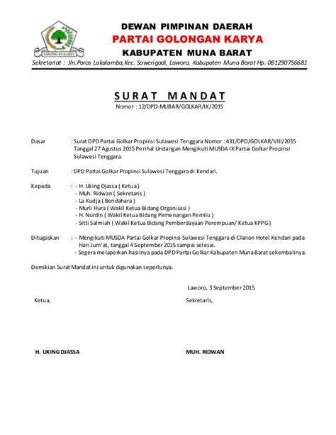 Contoh Surat Mandat : contoh, surat, mandat, William, Kbarek, (yulianuswilly), Profile, Pinterest