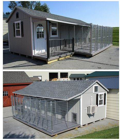Kennel for 5 Dogs Take a look inside this prefab/modular dog kennel!Take a look inside this prefab/modular dog kennel! Dog Kennel Designs, Diy Dog Kennel, Pet Kennels, Kennel Ideas, Indoor Dog Kennels, Outdoor Dog Kennel, Dog Kennel Outside, Puppy Kennel, Shelter Dogs