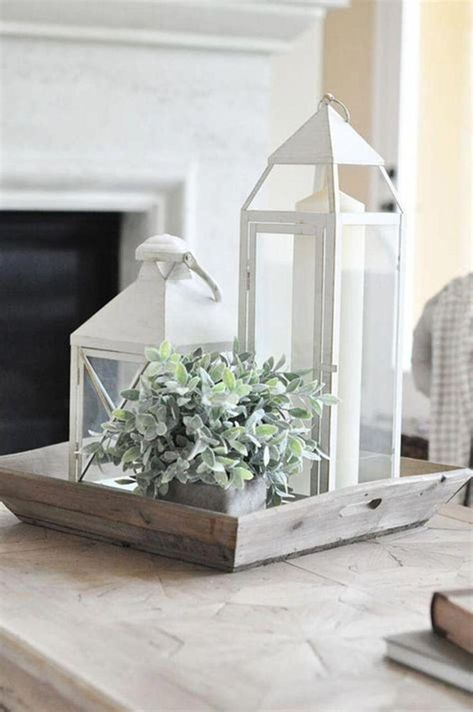 40 Beautiful Farmhouse Style Tray Decor Ideas - Coffee ...