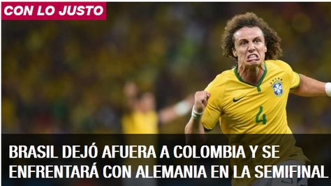 Brasil derrotó 2 a 1 a Colombia, dirigido por el argentino José Pekerman. El encuentro se disputó en el estadio Arena Castelao de la ciudad norteña de Fortañeza, con el arbitraje del español Carlos Velasco Carballo.
