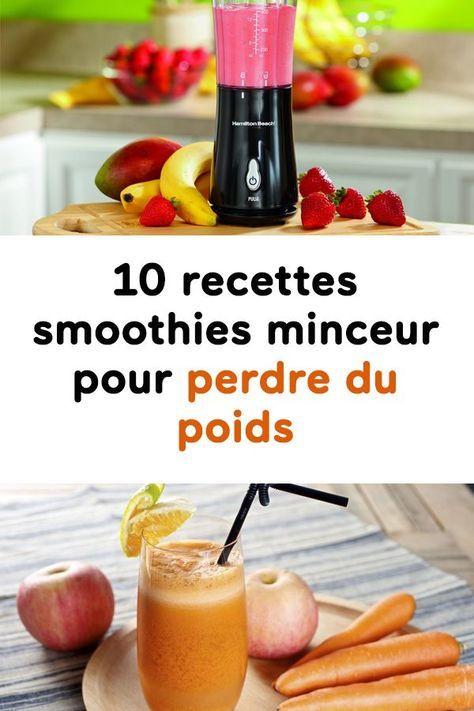 10 Recettes Smoothies Minceur Pour Perdre Du Poids Detox Diet Drinks Natural Detox Drinks Detox Diet