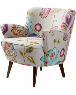 The Curated Nomad The Curated Nomad Sophie Floral Accent Chair