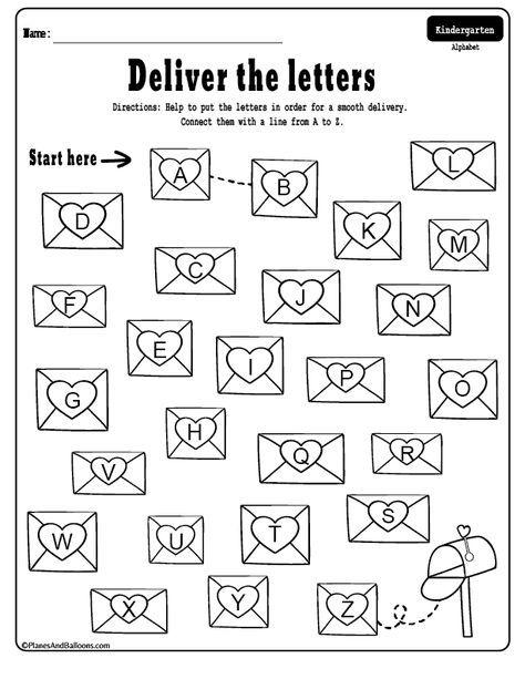 Valentine S Day Kindergarten Worksheets Free Printable Pdf Kegiatan Sekolah Kerajinan Tangan Anak Belajar