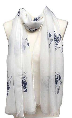 Navy Blue Paisley Print Large Maxi Scarf Stole Sarong Wrap Hijab Scarves