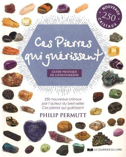 Ces Pierres Qui Guerissent Guide Pratique De Lithotherapie De Philip Permutt Pierre Broche