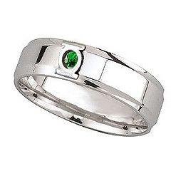 Green Lantern Mens Wedding Ring Photos - Fashion Female