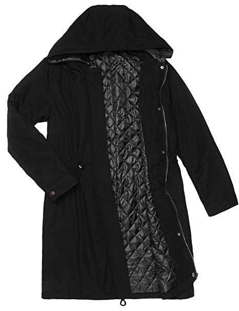 a7441f4d4 Amazon.com: Beyove Womens Military Hooded Warm Winter Faux Fur Lined ...