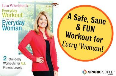 This workout DVD for everyday women would make a great gift for your own holiday wish list! | via @SparkPeople #fitness #exercise