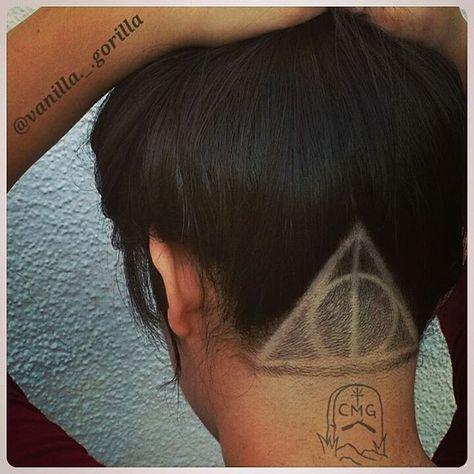 tatuagem em undercut  8