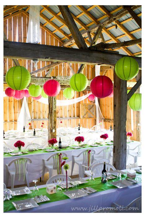 16 best Hot Pink, & Lime Wedding images on Pinterest | Bat mitzvah ...