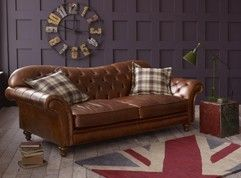 Crompton Sofa The English Sofa Company Brown Leather Sofa Bed Brown Leather Sofa Brown Leather Couch