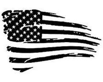 American Flag Black And White Version Sticker By Warishellstore American Flag Wallpaper American Flag Sticker Black And White Flag