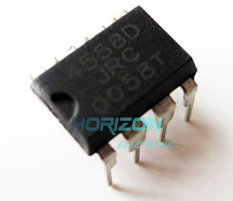 20PCS IC JRC4558D 4558D DIP8 OP AMP DIP8 ESCA ca