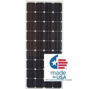 Grape Solar 100 Watt Polycrystalline Solar Panel For Rv S Boats And 12 Volt Systems Gs Star 100w The Home De Solar Pv Panel Solar Panels Solar Energy Panels