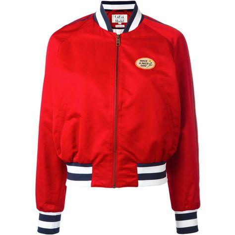 exklusive Schuhe offizielle Fotos Rabatt-Sammlung Tommy Hilfiger printed varsity jacket (4.575 ARS) ❤ liked ...