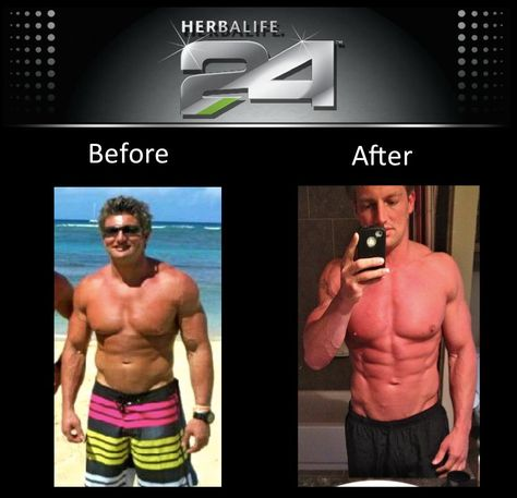 Tim Flies! With Herbalife 24 he lowered his body fat percentage and got lean and ripped!