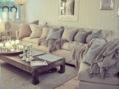 Die besten 25+ Big sofa grau Ideen auf Pinterest Sofas, Beige - wohnzimmer weis shabby