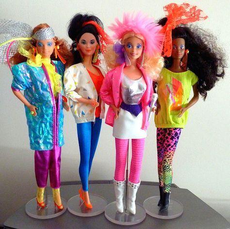1986: Rockstar Barbie Bilder | Barbies puppen, Kindheit