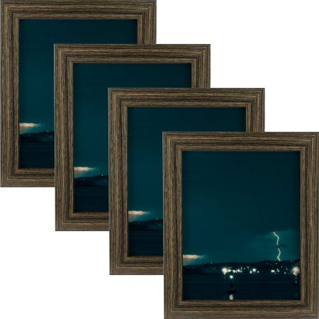Craig Frames Bauhaus 125 Modern Black Tan Oak Picture Frame 10x13 Inch Set Of 4 Oak Picture Frames Picture Frames Home Decor Pictures