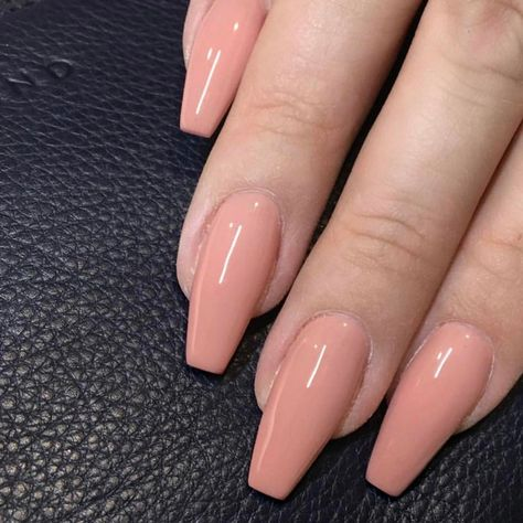Peach nails in perfect shapes - Nail art designs, Fashion on trends,Hairstyles ,Braids ,updo wedding hair