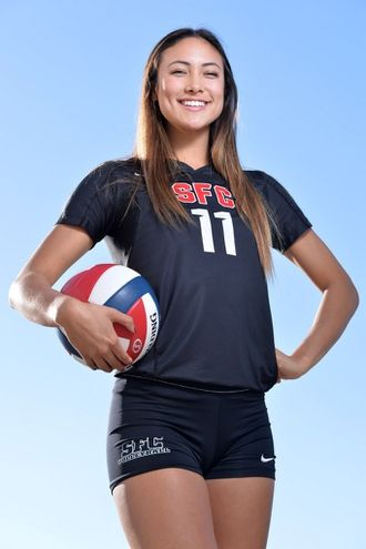 All Usa Volleyball Player Of The Year Lexi Sun Sante Fe Christian Solana Beach Calif Usa To Volleyball Players Usa Volleyball Female Volleyball Players