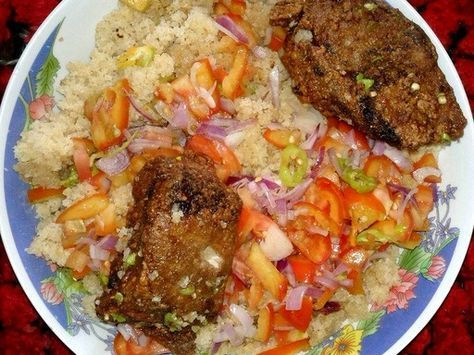 Garba Cote D Ivoire Recette Cuisine Africaine Recettes De Cuisine Africaine Recettes De Cuisine