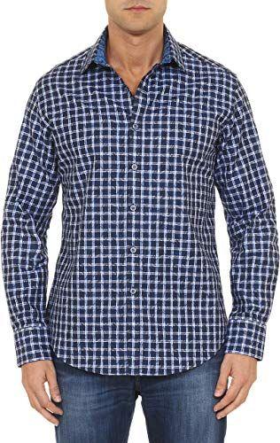Robert Graham Mens Kilt Long Sleeve Button-Down Shirt