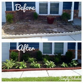 Image Result For Low Maintenance Front Yard Landscaping Ideas On A Budget Home Landscaping Front Yard Landscaping Design Front Yards Curb Appeal