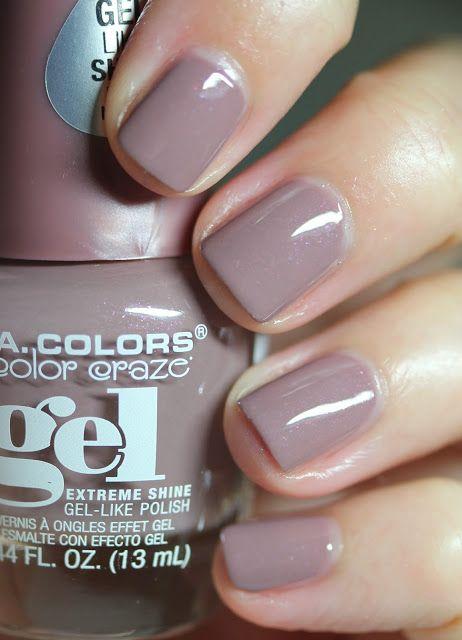 L A Colors Color Craze Gel Extreme Shine Chateau Nail Polish La Colors Nail Polish Gel Nail Polish