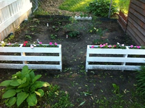 barriere potager jardin,palette,barrière | Jardin | Pinterest ...