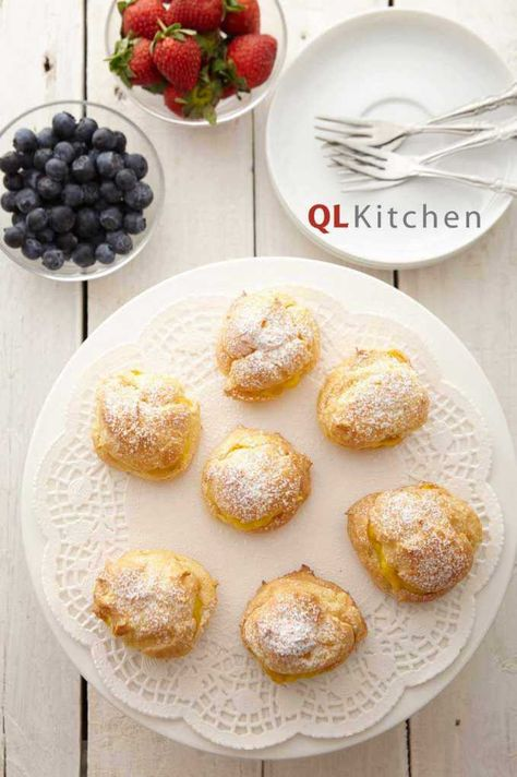Ive been looking for a good recipe for my cream puffs filling. Shd try this one!