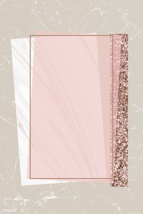Download premium vector of Shimmering rectangle frame design vector about marble, background, beige, blank and bronze 894098