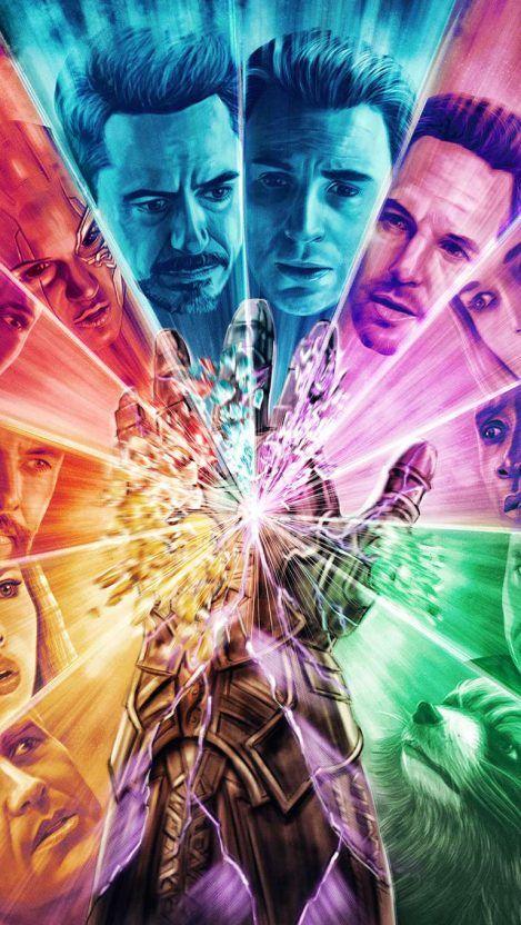 Iron Man Infinity Gauntlet iPhone Wallpaper - iPhone Wallpapers