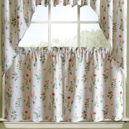Home Kitchen Curtains Tier Curtains Valance