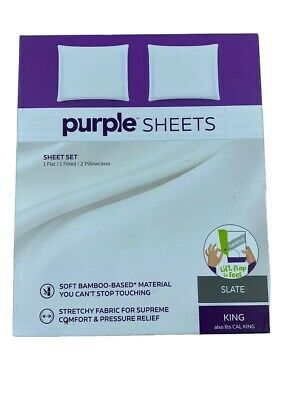 Purple Mattress Brand Bed The Purple Sheets King Cal King Size