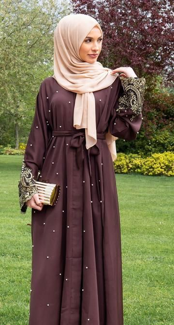 Terjual 1 · alexa shawl by femme outfit. 50 Best Abaya Designs For 2020 New Abaya Style Abaya Designs New Abaya Style Muslimah Fashion Outfits