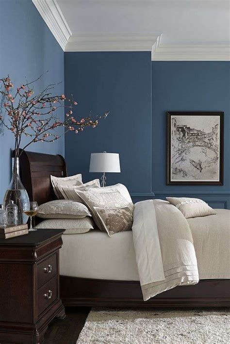 Top 90 Beautiful Bedroom Decorating Ideas Blue Bedroom Walls
