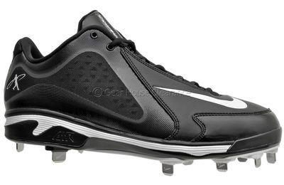the latest 4ff9d b54b5 Nike Air Swingman MVP Metal Mens Baseball Cleats Black   White  http   www.gearhouseclearance.com servlet the-Shoes-%26-Cleats-cln-Baseball- Cleats  ...