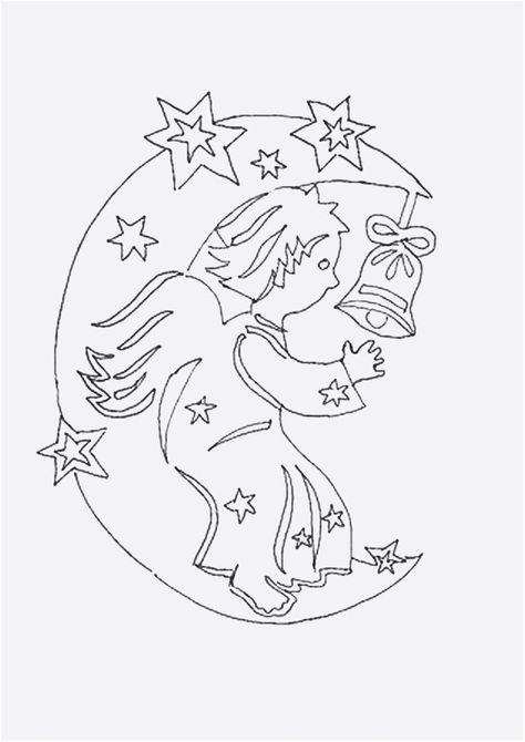 fensterbilder weihnachten vorlagen engel  malbild