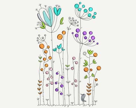 Dulce Conjunto de Tarjetas y etiquetas brillantes flores y palabras alentadoras Cuadro De Punto De Cruz