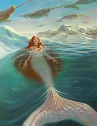 Narwhal Sky This Needs To Go In My Bathroom Artsy Sy Pinterest Mermaid Merfolk And Fantasy Mermaids