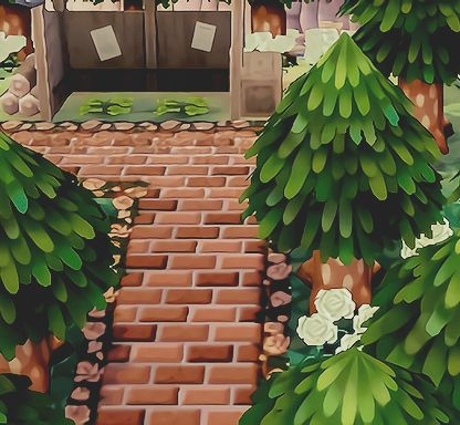 Bathroom Stall Acnl town-of-flowers: zen park completed!   acnl :3   pinterest