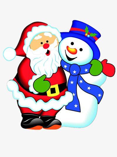 Papa Noel Y Muneco De Nieve Papa Noel Dibujo Muneco De Nieve Animado Muneco De Nieve Dibujo